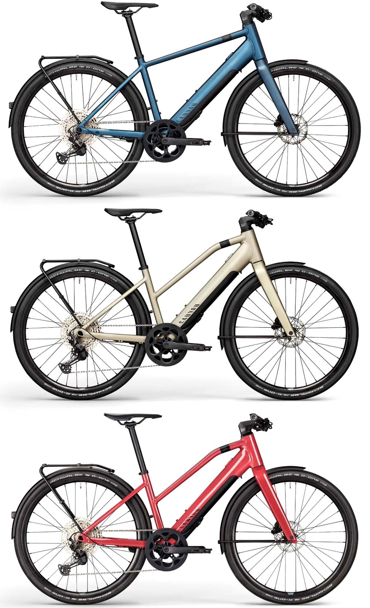 En TodoMountainBike: Canyon Bicycles presenta dos nuevas bicis eléctricas urbanas y adelanta su primer concepto de coche eléctrico