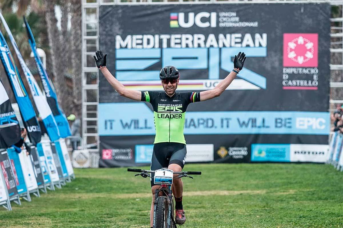 """David Valero, tras ganar la Mediterranean Epic: """"Más que contento con este inicio de temporada"""""""