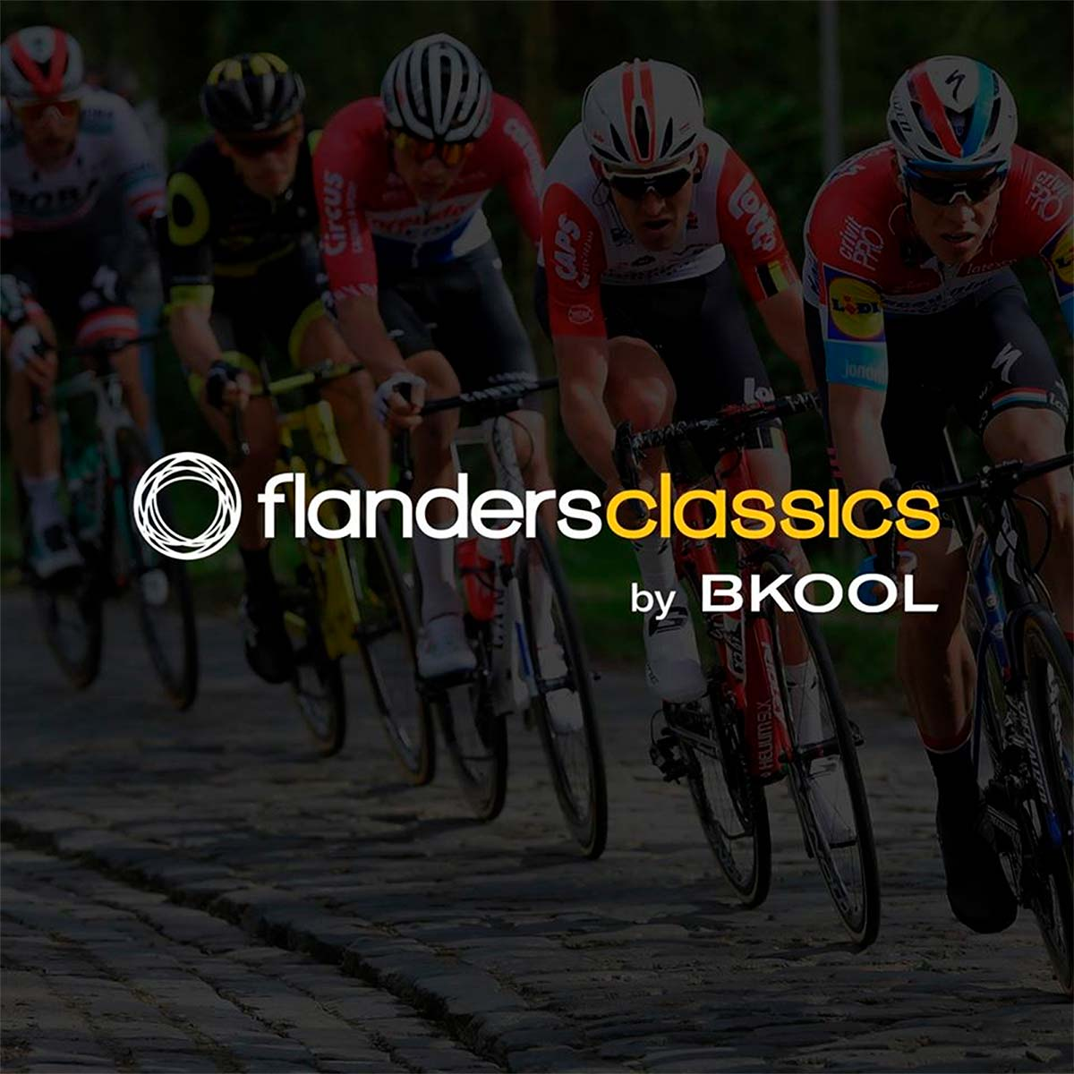 Flanders Classics by Bkool, o cómo disputar las clásicas belgas desde el salón de casa